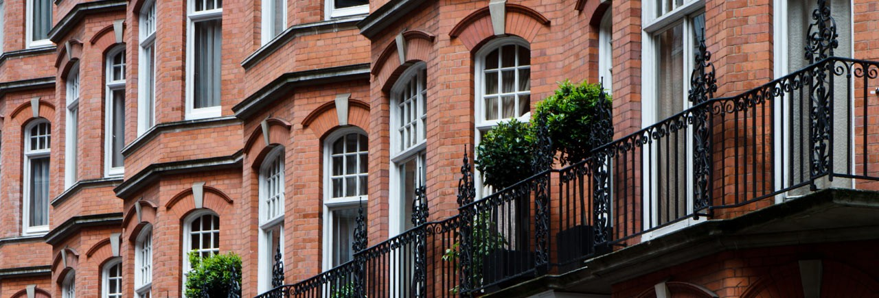 Victorian property in Mayfair London